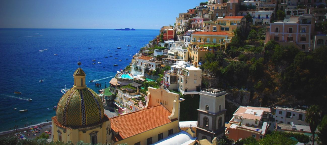 positano the best of Amalfi coast. Transfer tour from Florence, Rome or Tuscany