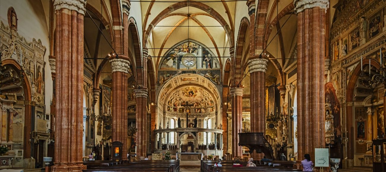 Verona Cathedral you will visit during your Verona Private Tour